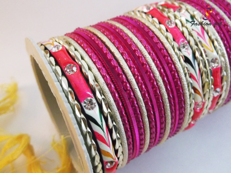 pari-metal-bangles-set-by-spc-fashionart-wholesaler
