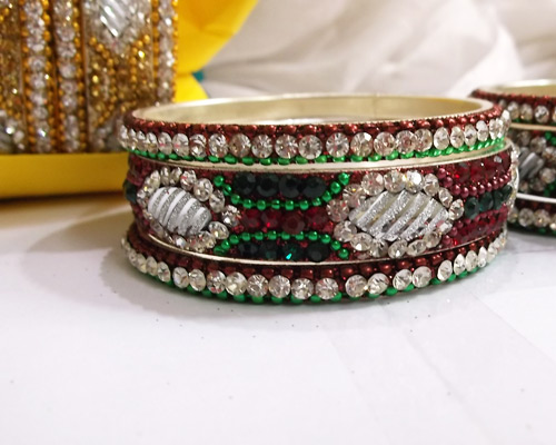 Assorted-Colour-Brass-Bangles
