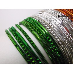 Multi Tiranga - Kids Metal Bangle