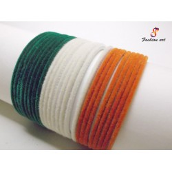 Velvet Bachha Tiranga - Kids Metal Bangle