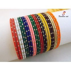 Fitoor - Mix Colour Kids Metal Bangle