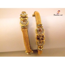 Golden Net - Brass Bangle Set (6 Set's Box)
