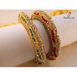 Pari Kada - Brass Bangle Set (6-Set's Box)