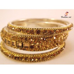 Style - Brass Bangle Set (6 Set's Box)