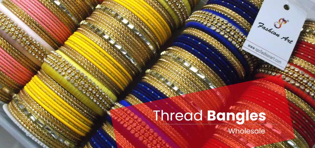 Thread Mix Bangles Wholesale