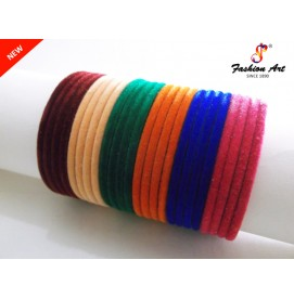 Velvet - 6 Mix-Colour Kada (MS,LS)