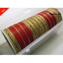 KRV 185 - Metal Bangle Set