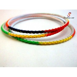 Dangal - Multicolour Metal Bangle (2-Set's Box)