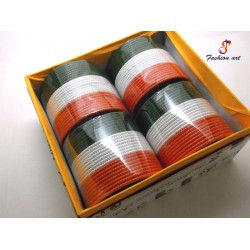 Dilnashi Tiranga - Metal Bangle (4 Set's Box)