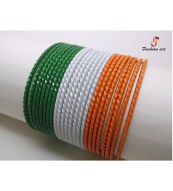 RAID Tiranga - Metal Bangle (4 Set's Box)