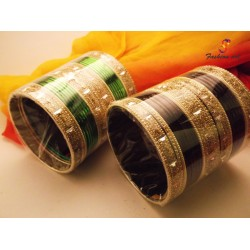 Sagar Kinare - Metal Bangle (12 Set's Box)
