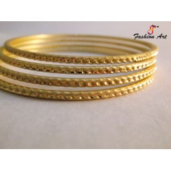 Salt-2 - Single Colour Metal Bangle (2 Set's Box)