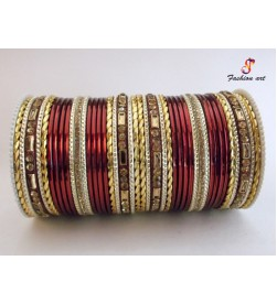 SPC Gold - Metal Bangle (6 Set's Box)