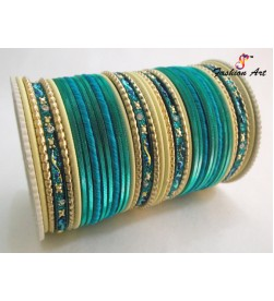 SPC-6184 - Mix of Designer Metal Bangle (6 Set's Box)